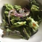 ジ・アザーサイド・コーヒー - salad  (´∀`)/ 醤油ベースなドレッシング