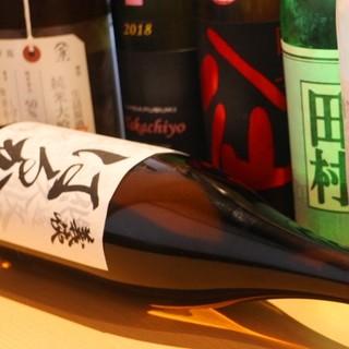 《ソムリエ厳選》こだわりの日本酒