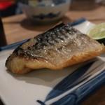 呑ん処 二○九 - ばん助け鯖塩焼き