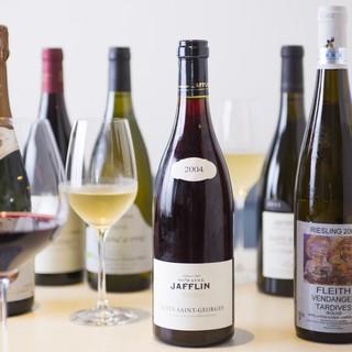 タストゥーの料理に合うフランス産ワイン