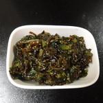 山葵と清流の里 ワビサビ - 鳴沢菜のしぐれの中身