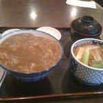 8558216 - カレー丼とミニかけ蕎麦