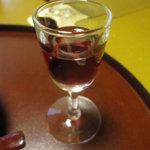 8558791 - 食前酒、山桃ワイン