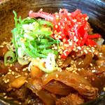 べらしお - 煮豚丼(にぶたどん)280円