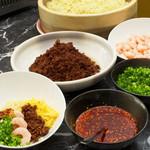 ガーデンカフェ - ◇ランチバイキング◇お好きなトッピングをご自由にお選びいただける、特製坦々麺。