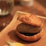 サラマンジェ ド ヨシノ - 料理写真:しゃものムース