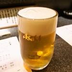 富寿し - 生ビール