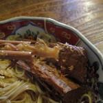 85581964 - 中骨までポロポロに煮込まれた焼き鯖