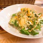 カレーハウス - セットのサラダ