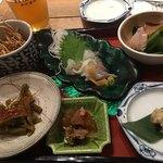 蕎麦 AKEBONOYA - 前菜セット