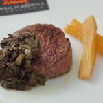 ブラジリカ グリル - テンダーロインステーキのマニバソース