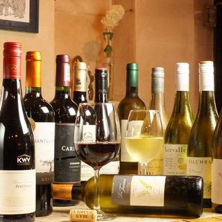 \新発見!/エスニックと豊富なワインの絶品マリアージュ◎