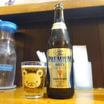 フレンチ食堂 - 連れのグラス