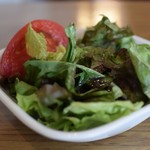アネアカフェ - グラタンのサラダ