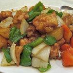 美寿寿 - 鶏のカレー炒め