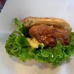 ティーズカフェ - 料理写真:てり焼きチキン玉子サンド