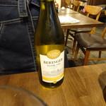 酒場~ルDEN - 白ワイン(490円)