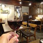 酒場~ルDEN - 赤ワイン(490円)