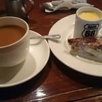 カフェ・ホートン - ケーキセット550円