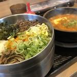 カルビ丼とスン豆腐専門店 韓丼  北名古屋店 - ピビンバ&和牛すじスン豆腐