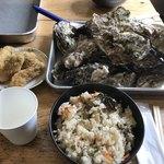 与吉屋 - 料理写真:牡蠣フライ・牡蠣ご飯・焼き牡蠣・蒸し牡蠣