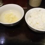 85595471 - 小ライス\50とスープ(18-05)