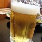 鮨処美好 - 生ビール小