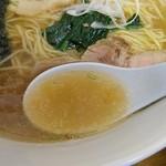 麺処まさご - 鶏ガラスープ