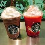 スターバックス・コーヒー - ● ストロベリーベリーマッチフラペチーノ 630円