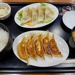 石松餃子 - 焼水定食 1080円