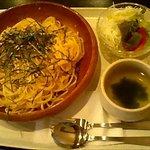 釜乃湯 - たらこスパゲティー 850円