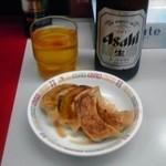 8560183 - 餃子とビール