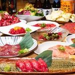 生肉専門店 焼肉 金次郎 - 1番人気!6000円コース