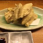 琉花 - メカジキの天ぷら¥560(税別)