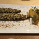 オステリア イル レオーネ - イワシの香草焼