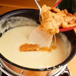 魚介イタリアン チーズ食べ放題 UMIバル - 濃厚雲丹チーズフォンデュ