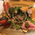 クチーナ タケダ - 料理写真:前菜の盛り合わせ