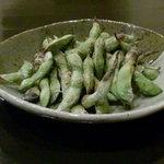 居酒屋 吉屋 - (焼)枝豆!香ばしい!
