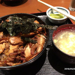 肥後橋南蛮亭 - 鶏丼定食
