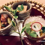 にかいのおねぎや 笹木 - 料理写真:先付け