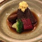 にかいのおねぎや 笹木 - 宮崎牛ほほ肉