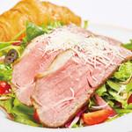 Pine Tree Bless - Roast Beef Salad - Walnut Dressing