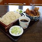 こはら - 料理写真:「ミニ天丼定食」