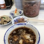 天麩羅処ひらお - 食べ放題の小鉢達と天つゆ