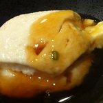 Tomatsu - 天ぷら定食(豆腐の餡かけ)