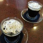 珈琲専門店 原点 - アイスコーヒー