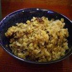 鳥料理 有明 - カレー炒飯
