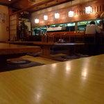 うるし山 - 居酒屋風の店内