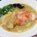85623877 - 濃昆鶏白湯 醤油ラーメン