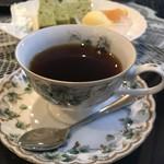 85624621 - アメリカンと抹茶のシフォンケーキ